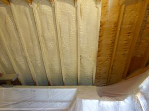 Spray Foam Insulation Installed In Florence